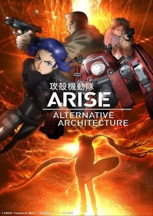 'Ghost in the Shell: Arise' TV Series with Brand New Episodes to Air from April