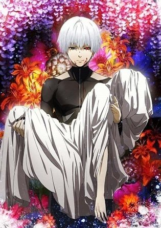 *Tokyo Ghoul √A* Broadcast Begins in January, Author Sui Ishida Joins Second Season as Original Planner