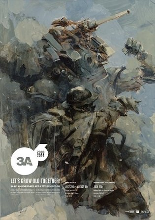 Good Smile to Hold ThreeA Art & Toy Show for First Time in Japan. Ashley Wood, Author of *Metal Gear Solid* Comic Series, to Attend