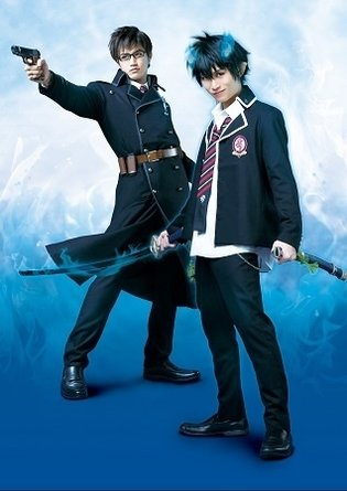 Performing Cast and Character Visuals for *Blue Exorcist* Stage Play Look Good
