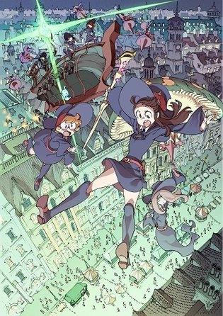 From a Training Project to the Screen: 'Little Witch Academia Maho Shikake Parade' to Be Released Theatrically in 2015