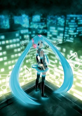 KEI Specially Creates Lovely, Whimsical Miku Poster for Hatsune Miku Expo in New York!