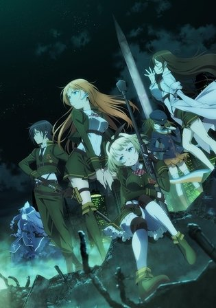 """AntiMagic Academy 'The 35th Test Platoon'"" Anime to Begin in October"