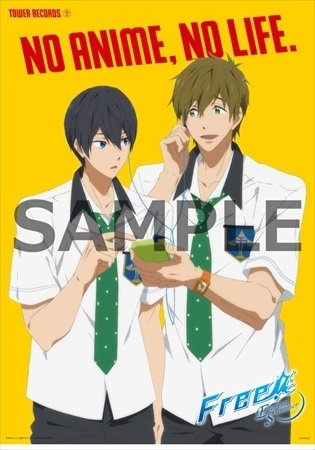 Tower Records Collaborates with *Free! ES* - Special Events Include Store-Opening Announcements by Haruka & Makoto