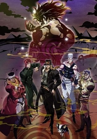 "Anime ""JoJo's Bizarre Adventure"" Enters Egypt Arc, Rebroadcast to Begin on Jan. 9, 2015"