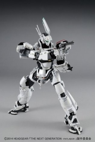 1/48th Scale AV-98 Ingram Plastic Model from *Patlabor* with Number Plate Releases