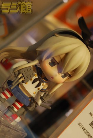 Sample Nendoroid Shimakaze from *Kan Colle* on Display at Guttetsu Cafe in Akihabara!