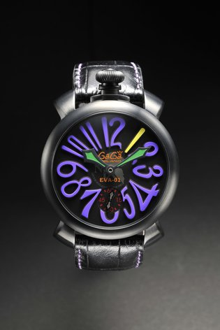 Italian Watch Brand GaGa Milano Collaborates with *Evangelion*!