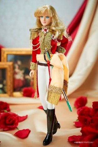Oscar from *The Rose of Versailles* to Become Character Doll that Also Includes Everyday Clothes