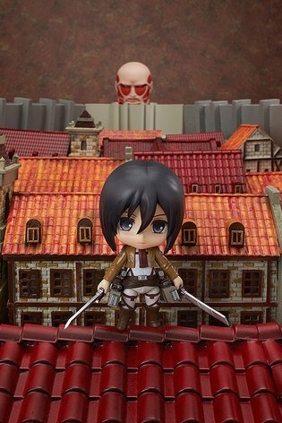 Sacrifice Your Heart! Mikasa Ackerman from *Attack on Titan* Has Become an Irresistibly Fierce Nendoroid!