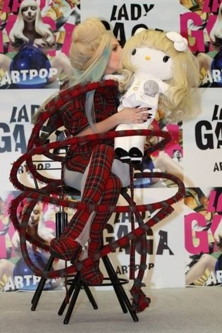 Lady Gaga Hello Kitty Sells for Nearly ¥2.26 Million