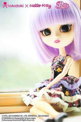 A Full Introduction to Pullip Violetta, a Cute Doll Born from a Collaboration with tokidoki and Hello Kitty!