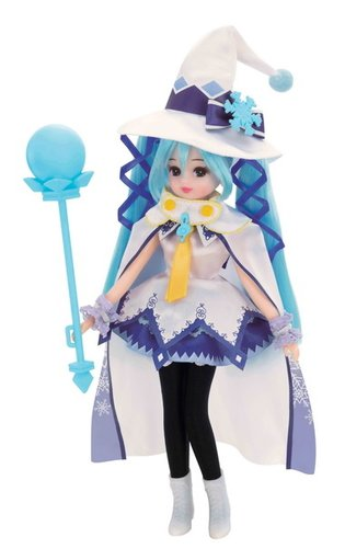 "Licca-chan Becomes Hatsune Miku! Pre-Orders Begin for ""Licca-chan Hatsune Miku Magical Snow Ver."""