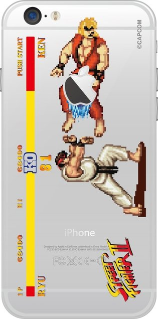 Five *Street Fighter II* iPhone 6 Cases to Release in Mid-December