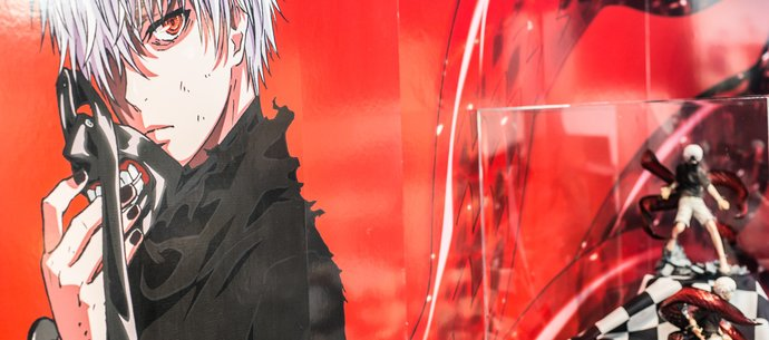 "picture of ""Tokyo Ghoul"" Ken Kaneki Figure Release Celebration Event Is on Now!"