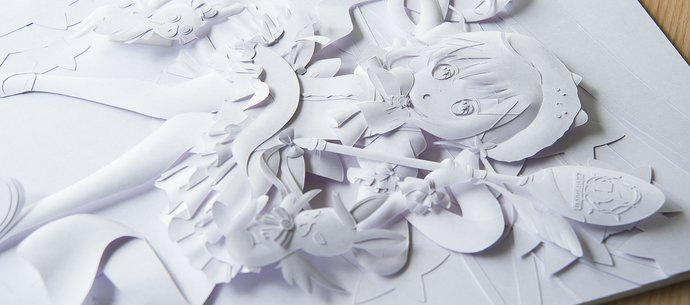 picture of Paper Sculptor Tatsuya Takahashi Reveals His Production Process!