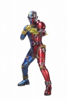 New Visual of *Kikaider Reboot* Shows an Asymmetrical Kikaider, Daisuke Ban Also to Appear in Movie