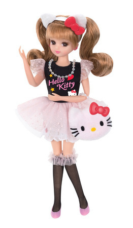 Hello Kitty 40th Anniversary Commemorative Licca-chan Collaboration