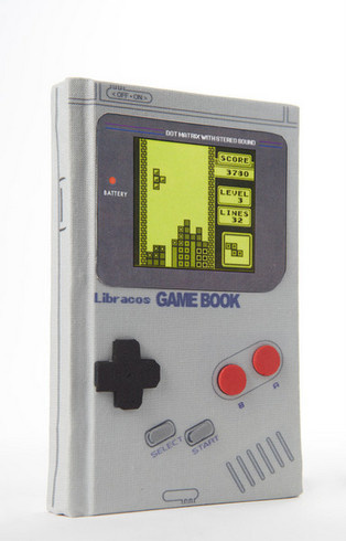 It Looks Like You Can Actually Play it - A Notebook that Looks Just Like a Game Boy