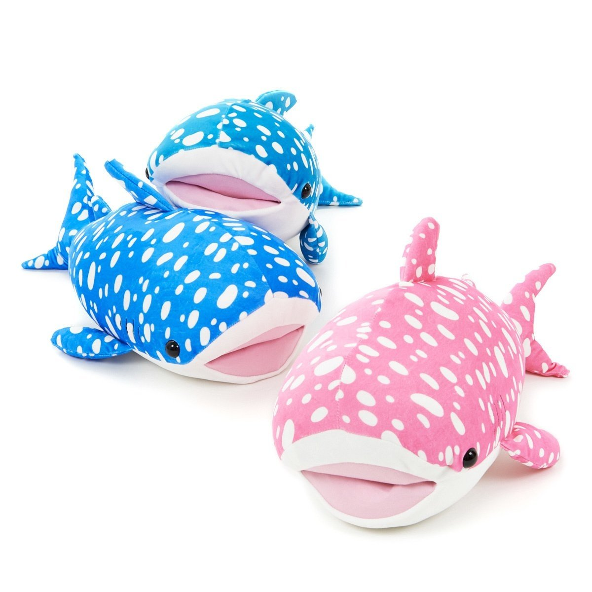 Mochi Puni Whale Shark Trio Big Plush Collection