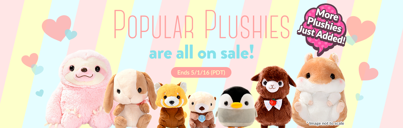 Popular Plushies on Sale