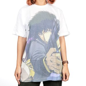 Cowboy Bebop Faye & Spike Men's Sublimation T-Shirt L