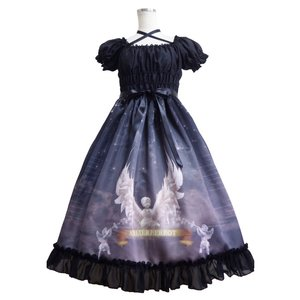 Atelier Pierrot Celeste Anges Dress Black