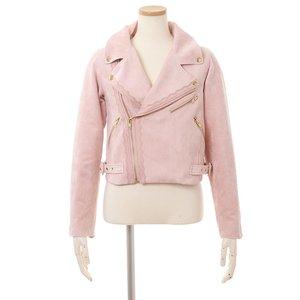 LIZ LISA Lace Biker Jacket Pink