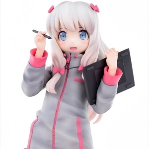 Eromanga Sensei Sagiri Izumi: First Volume Cover Illustration Ver. Smiling Face 1/6 Scale Figure [Pre-order]