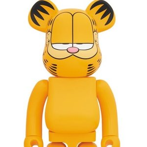 Medicom Be@rbrick 2018 Garfield Cat 400/% am I cool or what Paws Bearbrick