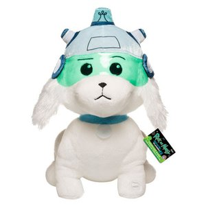 """Galactic Plush: Rick and Morty 12"""" Snowball w/ Sound [Pre-order]"""