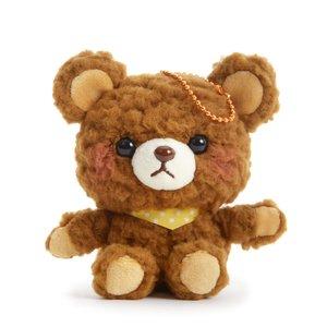 Nuikuma no Chikku Bear Plush Collection (Ball Chain) Cookie