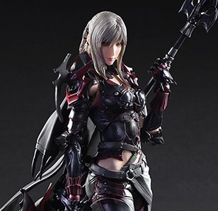 Play Arts Kai Final Fantasy XV Aranea Highwind