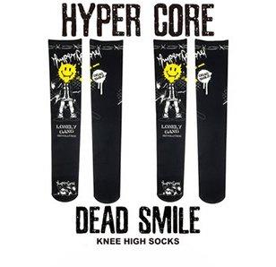 HYPER CORE Dead Smile Knee-High Socks