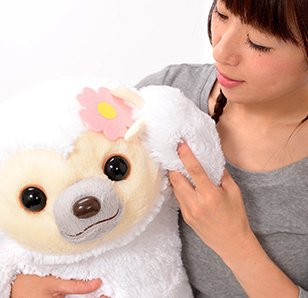 Namakemono no Mikke & Friends Sloth Plush