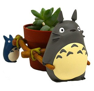 Studio Ghibli Mini Planter: My Neighbor Totoro Three Horsepower