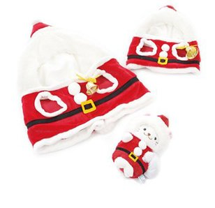 Sirotan Polar Bear Santa Plush Outfit Collection