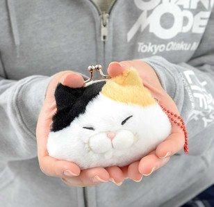 Hige Manjyu Cat Plush Mini Coin Pouches