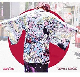 ACDC RAG Samurai Kimono