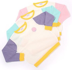 milklim Kids School Knit & Omake Set