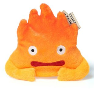 Howl's Moving Castle Calcifer Coin Purse
