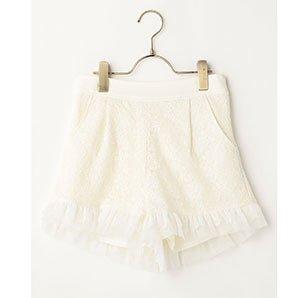 LIZ LISA Schiffli Lace Shorts