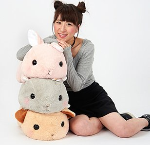 Pote Usa Loppy Tsumikko Rabbit Plush Collection (Big)