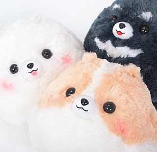 Pometan & Friends Dog Plush Collection (Big)