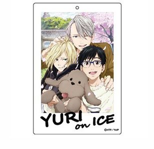 Yuri!!! on Ice Big Acrylic Keychain Charm
