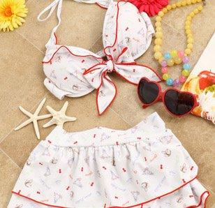 LIZ LISA Picnic Rabbit Bikini