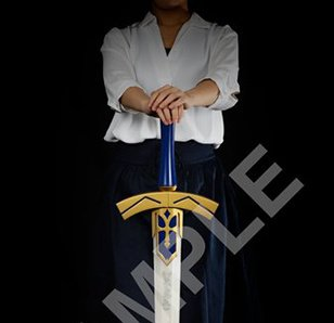 Fate/stay night [Heaven's Feel] Excalibur: The Sword of Promised Victory 1/1 Scale Replica
