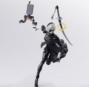 Bring Arts NieR: Automata 2B & Machine Lifeform Set