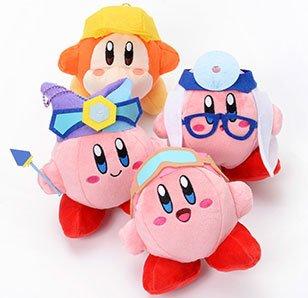 Kirby: Planet Robobot Mini Plush Collection
