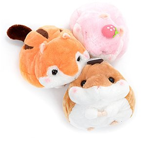 Coroham Coron Manmaru Friends Hamster Plush Collection (Big)